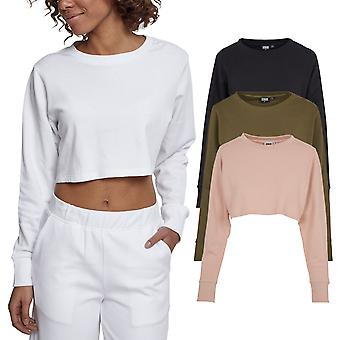 Urban classics ladies - cropped oversized Terry sweater