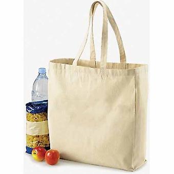 Bolsa de lona bolsa marrón de vida mangos largos