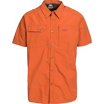Trespass Mens Lowrel Short Sleeve UV Protected Outdoor Walking Shirts