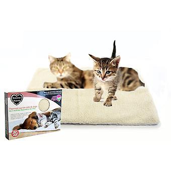 Valentina Valentti Self varme termiske Pet Pad tæppe eller seng til katte og små hunde