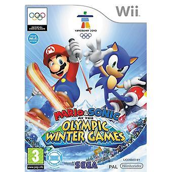 Mario Sonic aux Jeux Olympiques d'hiver (Wii) - Nouveau