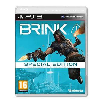 Brink Special Edition spel PS3-nytt