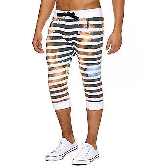 Men's Sweat Shorts Jogging Sport short trousers Jogging 3/4 Print Print Summer New
