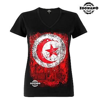 Zoonamo T-Shirt ladies classic for Tunisia