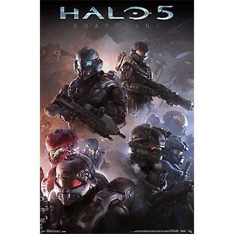 Halo 5 - troupes Poster Print