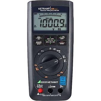 Gossen Metrawatt METRAHIT AM BASE Handheld multimeter Calibrated to (DAkkS standards) Digital CAT III 1000 V, CAT IV 600 V Display (counts): 12000