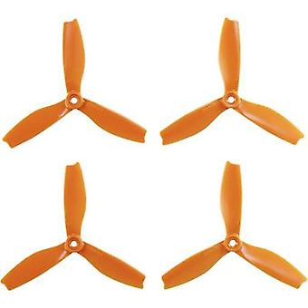 HQ Prop 3-blade Race copter propeller set Bullnose 5 x 4  (12.7 x 10.2 cm) DPS5X4X3O