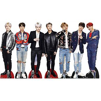 BTS Bangtan Boys Cardboard Cutout / Standee set of 7