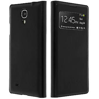 Flip Book cover, Window case for Samsung Galaxy S4 – Black