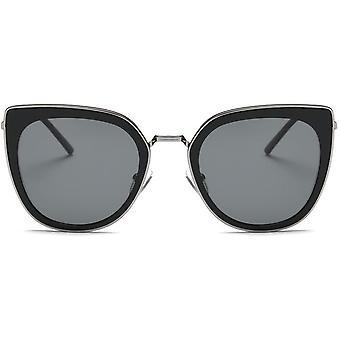 Spolaryzowane kot oko okulary lustro Metal kolor wykończenia obiektywu 52mm