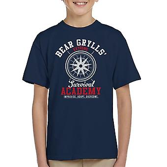 Koszulka dziecięca Bear Grylls Extreme Survival Academy