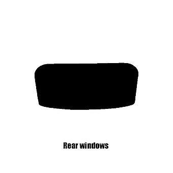 Pre cut window tint - Vauxhall Corsa Van - 2006 to 2014 (D) - Rear windows
