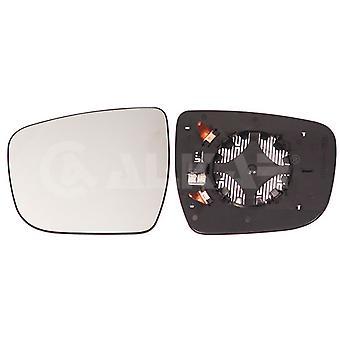 Verre gauche de miroir de côté de passager (chauffé) et support pour Nissan X-TRAIL 2014-2018