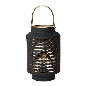 Inspiracja Jamila domek porcelany owalny szary Lampa
