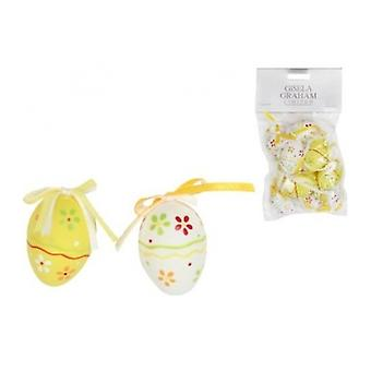 Gisela Graham Yello Easter Tree Decorations