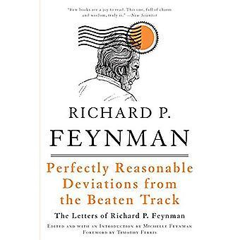 Heel redelijk afwijkingen van het geslagen spoor: de brieven van Richard P. Feynman