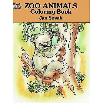 Zoo-Tiere malen Buch