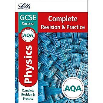 AQA GCSE 9-1 Natuurkunde voltooien herziening & praktijk (Letts GCSE 9-1 herziening succes) (Letts GCSE 9-1 herziening succes)