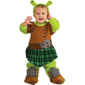 Shrek 4 Warrior Fiona lapsen puku