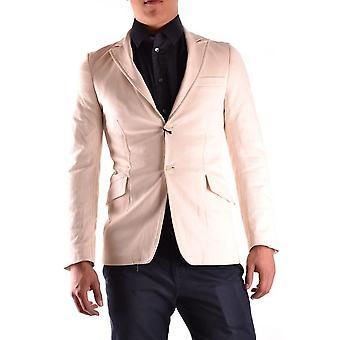 Costume National Ezbc066038 Men's Beige Cotton Blazer