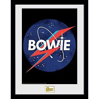 """Collecteur de la NASA David Bowie imprimable 16 x 12""""-41x30.5cm"""