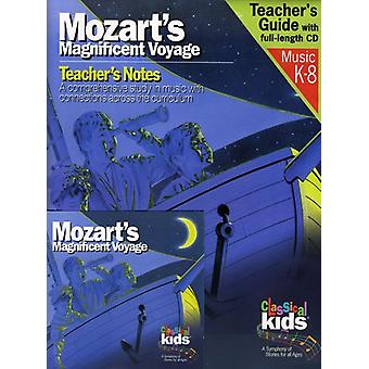 W.a. Mozart - Mozart's Magnificent Voyage (Book/CD) [CD] USA import