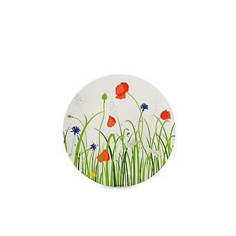 Mepal Flow Melamine Breakfast Plate, Fields of Flowers