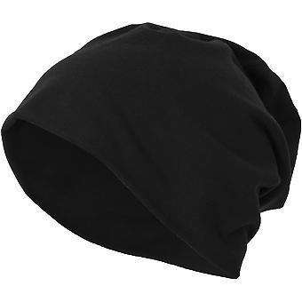 Cotton Addict Mens Stretch Jersey Warm Winter Beanie Hat
