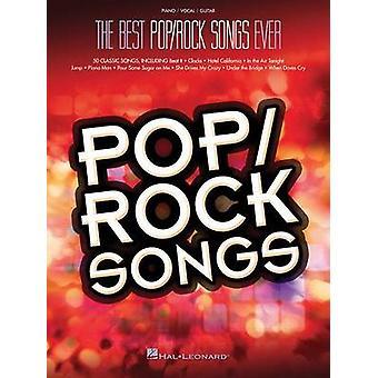 Best Pop/Rock Songs Ever (Pvg) - 9781495002588 Book