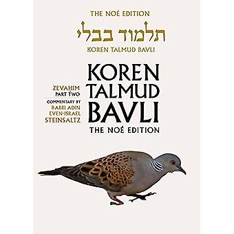Koren Talmud Bavli - Zevahim Part 2 - English - v. 34 by Koren Talmud B