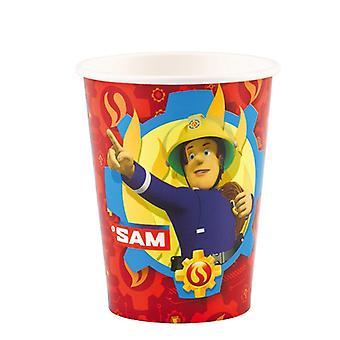 Pompier Sam 8 Mug 200 ml pompier Sam samparty enfants anniversaire