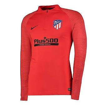2019-2020 Atletico Madrid Nike perceuse Training Top (rouge)