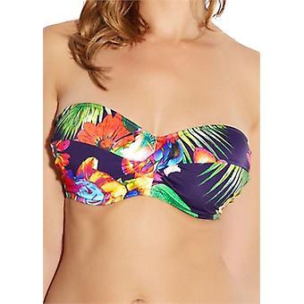 Fantasie Cayman Fs5684 WP beugel, gepolsterde draai Bandeau bikini top