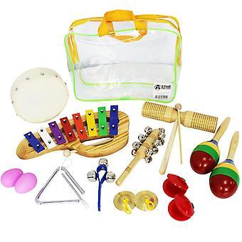 Pack de percusión A-Star 10 piezas para niños