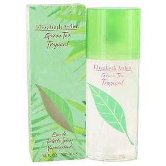 Green Tea Tropical Par Elizabeth Arden Eau De Toilette Spray 3.3 Oz (femmes) V728-498337
