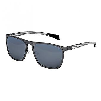 التيتانيوم الجدي تولد الاستقطاب النظارات الشمسية-Gunmetal/الزرقاء-الخضراء