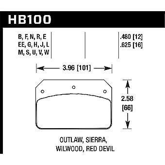 Hawk Performance HB100B. 480 HPS 5,0