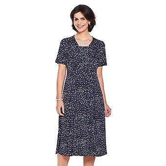 Amber Amber Spotted Dress 41 Inch Length