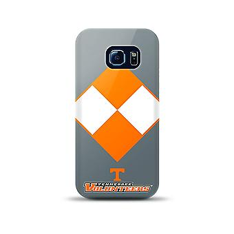 Mizco NCAA Oversized Snapback TPU Case for Galaxy S6 Edge (Tennessee Volunteers)