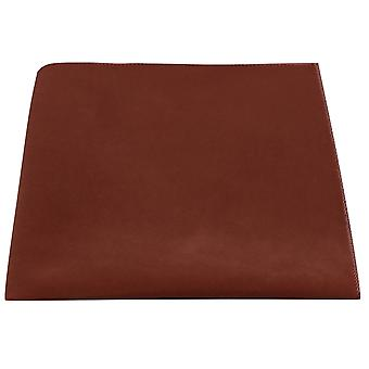 Luxus Walnut Brown Velvet Einstecktuch