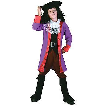 Bristol novinka/dětský pirátský kapitán kostým s botami