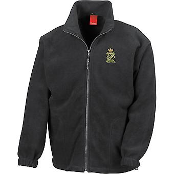 13ème 18ème Royal Hussars Colour - Licensed British Army Embroidered Heavyweight Fleece Jacket