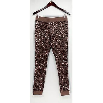Anybody Lounge Pants, Sleep Shorts Loungewear Cozy Knit Taupe Beige A283669