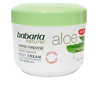 Babaria Aloe Vera 20 % Crema Corporal Reparadora 400 Ml Unisex