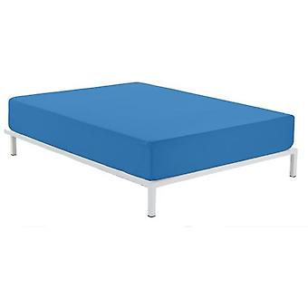 Wellindal Flat Sheet Combi 50/50 Smooth Blue Light (Textiel , Beddengoed , Lakens)