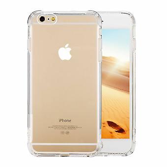 Couverture arrière Shockproof TPU - PC pour Apple iPhone 6/6S Transparent