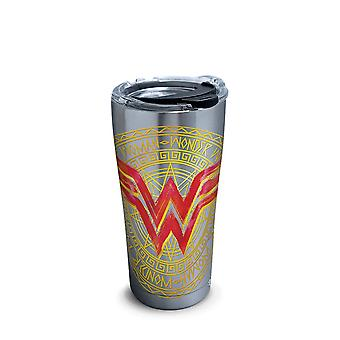 Wonder Woman Icon Stainless Steel Tumbler With Hammer Lid 20 oz Tervis® Tumbler Wonder Woman Icon Stainless Steel Tumbler With Hammer Lid 20 oz Tervis® Tumbler Wonder Woman Icon