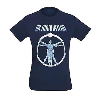Watchmen Dr. Manhattan Anatomy miesten ' s T-paita