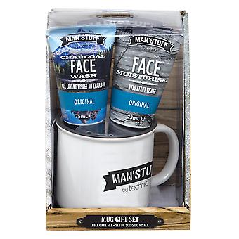 Technic Man'Stuff Mug & Toiletries Gift Set