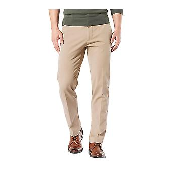 Dockers Men's Straight Fit Workday Khaki Pants with Smart 360 Flex, Safari Be...